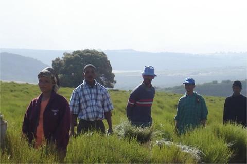 南アフリカで頑張って生産している人たち