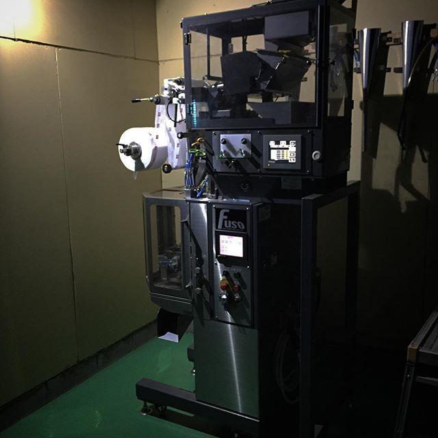 お茶をティーパックにする機械です。今日も頑張って働いてくれています(^ ^)#tea #fukucha #ハーブティー #お茶 #ふくちゃ #フレーバーティー #lovetea