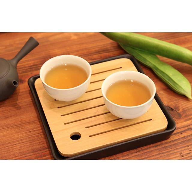 今日のtea自家菜園のなた豆茶です。香ばしくて優しい味わいでした。来年は本格的に栽培したいと思います。#お茶 #なたまめ#ふくちゃ